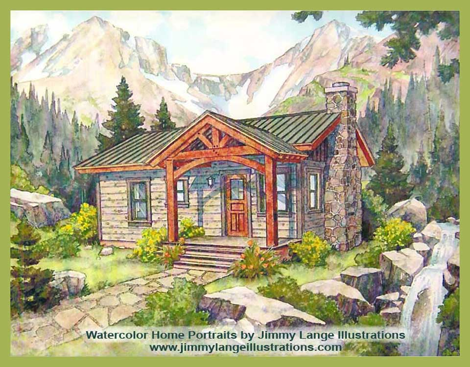 Timber Frame Specializing In Log Timber Frame Small Home Cabin