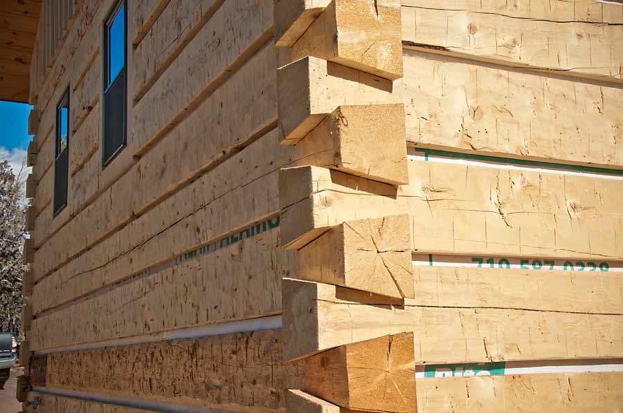 Ozark Timber Frame Colorado Show Cabin