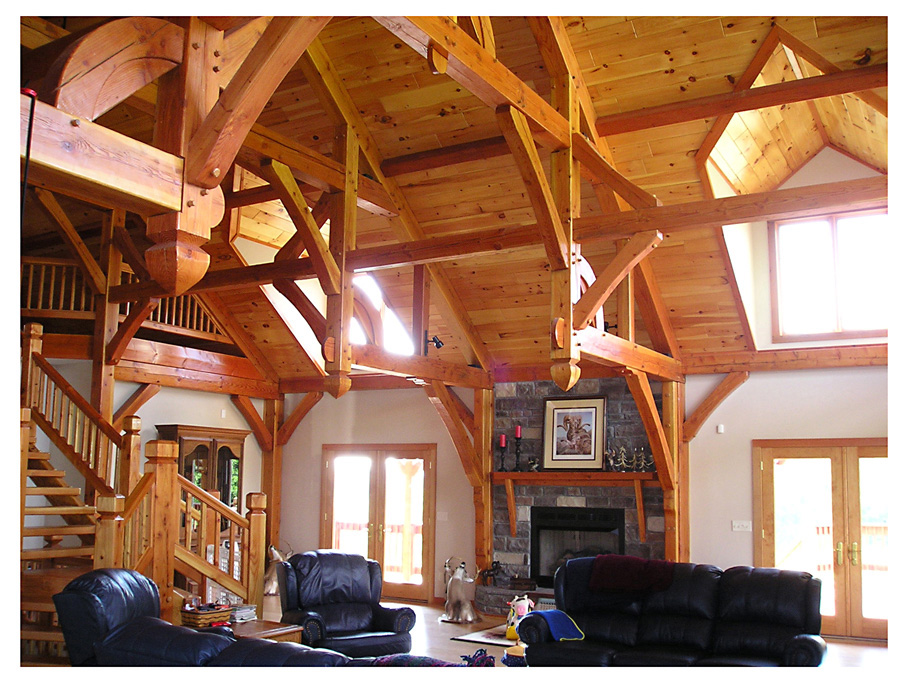Ozark Timber Frame - Past Projects